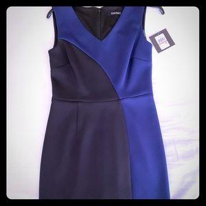 Ellen Tracy color block size 10 dress